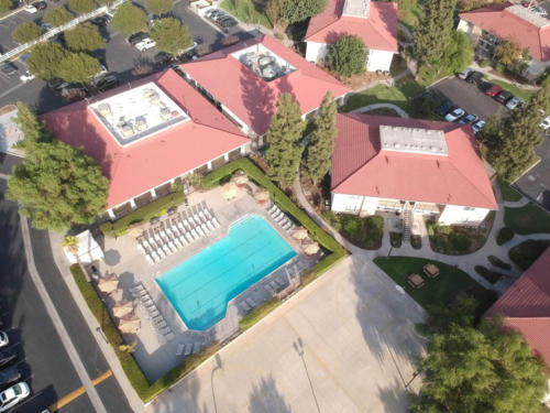 Aerial View of Recreation Center