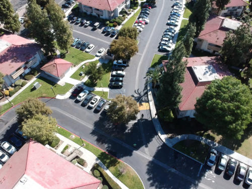 Residential Housing Units Aerial