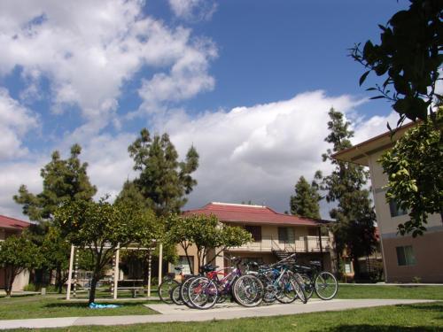 Residential Housing Unit Bike Racks