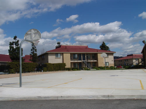 Recreation Center Basketball Court